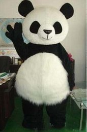 $enCountryForm.capitalKeyWord Australia - Panda Bear Mascot Costume Adult Mascot Men's for Party and Valentine's Day Thanksgiving Day Christmas Halloween and New Years
