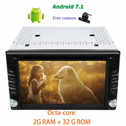 octa core computers 2020 - Backup camera+Android 7.1 Octa-core Car Headunit 6.2'' on-board computer car dvd Autoradio dvd player in dash
