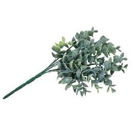 30 см длина Northyle искусственный эвкалипт поддельные зелень трава свадебные украшения искусственные растения украшения дома 2 цвета