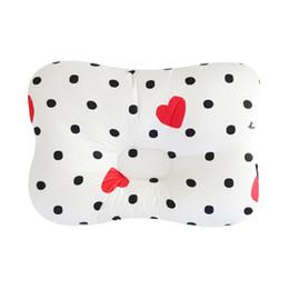 Shape Flat Canada - Cute Baby Pillow Cotton Filling Baby Shape Pillows Preventing Flat Head Room Decor Newborn Nursing Pillow almofada infantil
