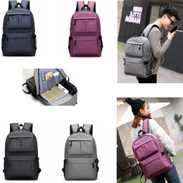 Lightweight traveL backpacks online shopping - 16 inch USB Charging Port  Oxford Lightweight Casual Business Laptop bb30e85a8161b