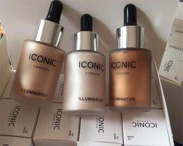 Original make up online shopping - Dropshipping Iconic London makeup illuminator liquid highlighters color glow shine original face make up Cosmetics
