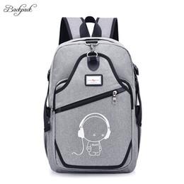 Cheap Black Laptop Australia - New Design USB Charging BackpacUnisex Casual Travel women Teenagers Student School Bags Cheap NotMen Laptop Backpack