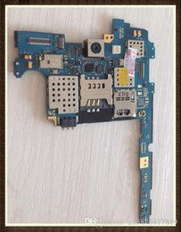 Note Motherboard NZ - 100%Working Unlocked Original Motherboard For Samsung Galaxy Note N7000 Clean IMEI free shipping