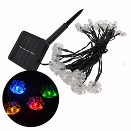 $enCountryForm.capitalKeyWord UK - 20leds Christmas Jingle Bells LED String Lights Solar Lighting Decorations Waterproof Fairy Lights Power Saving Home Decoration