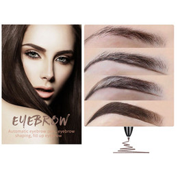 Wholesale Professional colors in Multi function Automatic Eyebrow Pencil Concealer Pen Gift for Women HJL2018