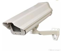 Venta al por mayor de Tiempo al aire libre carcasa de la cámara Interal de aluminio resistente de seguridad CCTV cámara de vigilancia alojamiento de montaje del recinto LLFA