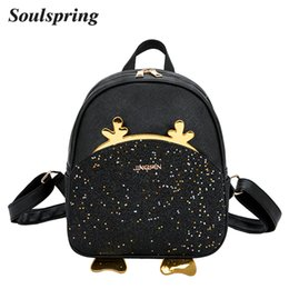 $enCountryForm.capitalKeyWord Canada - Soulspring Women Backpack Cute Small Sequined BackpacFor Teenage Girls Daypack Female Bling Bagback Ladies Bag Sac A Dos