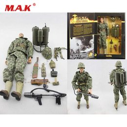 $enCountryForm.capitalKeyWord Australia - Collection 1 6 Full Set Action Figure 21st Century 33654World War II US Marine Corps Spitfire Fire Gunner Model for Fans Gift