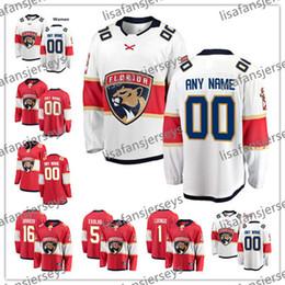florida numbers 2019 - Custom Florida Panthers Hockey Jerseys 2018 New Brand Stitched Any Number Name 1 Roberto Luongo 5 Aaron Ekblad 6 Alex Pe