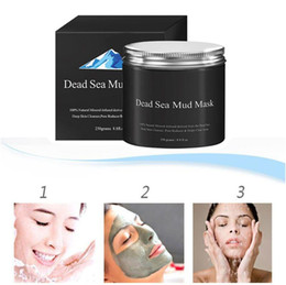 Face Mask Clean Pores Australia - Dead Sea Mud Mask Deep Cleaning Hydrating Acne Blemish Black Mask Clearing Lightening Moisturizer Nourishing Pore Face Cleaner 250G HOT