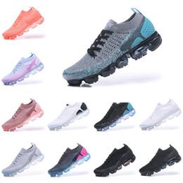 With Box Nike air max 2018 airmax Vapormax 2.0 homens tênis para homens sapatilhas moda feminina athletic sport sapato de luxo hot cors caminhadas caminhadas sapatos ao ar livre em Promoção