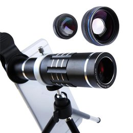 $enCountryForm.capitalKeyWord UK - 4K 18X Zoom Lens HX-1821 Telescope Telephoto Camera Phone Lenses 0.45x wide angle lens macro lens Tripod Aluminum Shell For Mobile Phone