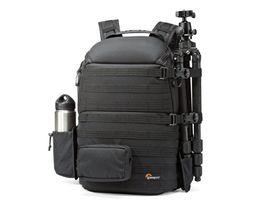 Venta al por mayor de ProTactic 450 AW mochila lluvia profesional SLR para dos cámaras bolso hombro bolsa de la cámara dslr 15 pulgadas portátil