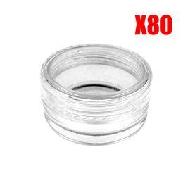 Plastic Jar Price UK - Low Price+2g 3g 5g 80X cosmetics perfume Jar Pot Eyeshadow Makeup Cream Lip Balm Beads Container