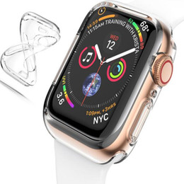 Chinese  Clear Soft TPU Case Cover Protector Hollow Design for Apple Watch Series 1 2 3 4 manufacturers