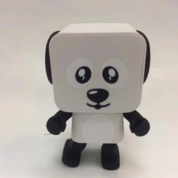 $enCountryForm.capitalKeyWord Australia - 2018 Dancing Dog Bluetooth Speakers Portable Mini Electronic Robot Stereo Speakers Electronic Walking Toys With Music Wireless Speaker Toy