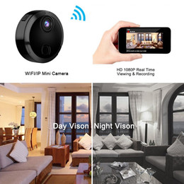 network camera sensor UK - Mini Wifi Camera HD 1080P Micro IP Network Camcorder 12 Infrared Night Vision Motion Sensor Charge While Recording Car Sport DV