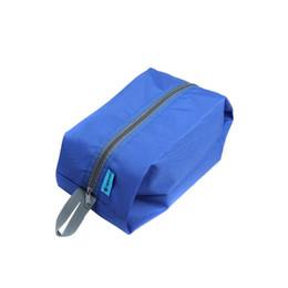 H9813RBL a prueba de agua portátiles de viaje Tote artículos de tocador lavandería bolsa bolsa de almacenamiento de bolsa azul