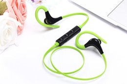 Iphone Stereo Player Australia - Bluetooth Headphones Sport Wireless Headset Hook Stereo Music Player Neckband Earphones For Iphone 7 With Retail Box good quality