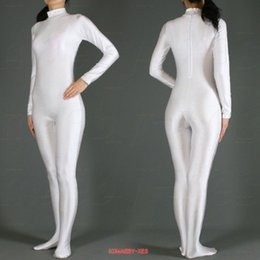 Body Suits Adults Australia - High Quality Novel Sexy&Club Full Body Zentai Suit Adult Lycra Spandex Catsuit Clothing For Halloween S-XXL