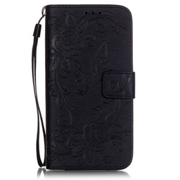 Flip Cover Lg UK - for LG K7 G5 phone case soft tpu flip leather cover Embossed pattern butterfly flower magnet Buckle card slot brush folio stand case
