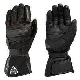 $enCountryForm.capitalKeyWord Australia - REVIT Waterproof H2O Gloves Motorcycle Cycling Riding Winter Warm Genuine Leather Long Gloves Black