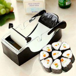 Perfect Cutter Australia - Kitchen Perfect Magic Roll Sushi DIY Maker Cutter Roller Machine Bento Mold