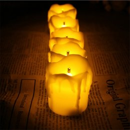 Candle Bright NZ - Set Of 12 Ultra Bright Decorative Candles ,Led Bougie Mariage ,Flameless Bougies Decorative Mariage For Wedding