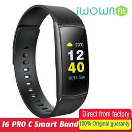 $enCountryForm.capitalKeyWord Australia - iWOWNfit i6 Pro C Fitness Bracelet IP67 Waterproof Smart Band Heart Rate Monitor Smart Wristbands Color Screen for IOS Android