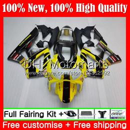 $enCountryForm.capitalKeyWord Australia - Body For HONDA CBR900 RR Yellow black CBR 929RR CBR 900RR CBR929RR 00 01 54MT21 CBR 929 RR CBR900RR CBR929 RR 2000 2001 Fairing Bodywork