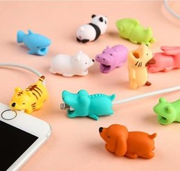 Cable proteCtor free shipping online shopping - Cable Bites Toy styles Cable Protector Animal Iphone Cable Bite Animal Doll cm Animal Iphone port Bite