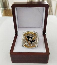 pittsburgh rings NZ - wholesale 2016 Pittsburgh P enguins Championship Ring Holiday gifts for friends