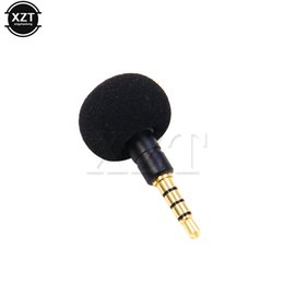 Ipad Microphone UK - 3.5mm Jack Mini Omni-Directional Mic Microphone Cellphone Smartphone for Recorder for iPad iPhone5 6s 6 Plus Portable newest