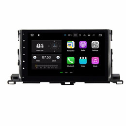 "toyota highlander gps android 2019 - Quad Core 10.1"" Android 7.1 Car DVD Player for Toyota Highlander 2015 With 2GB RAM Radio GPS WIFI Bluetooth USB DVR"