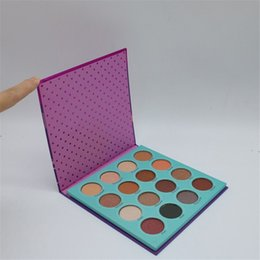 Chinese  Wholesale New ColourPop Fame Colour Pop Eyeshadow Palette 16 Colors Makeup Eye Shadow Palette Free Shipping manufacturers