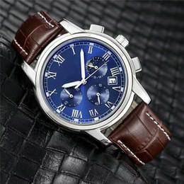 b869f517f3a9 Marca suiza AAA relojes de lujo DZ mens Relojes deportivos al aire libre  relogio masculino reloj de pulsera reloj de cuero genuino buen regalo  INVICTA