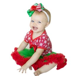 $enCountryForm.capitalKeyWord Australia - MUQGEW Christmas Trees Toddler Newborn Baby Girls Tutu Dress Rompers Jumpsuit Outfits Funny Baby Clothes Body Menina Q06