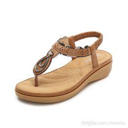 4a7a813f5 Rhinestone flat sandals foR women online shopping - 2018 Summer New Women  Sandals Comfortable Rhinestone flip