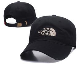 Ingrosso 2018 Good Fashion North Luxury marca Face hat Dad Hat hiphop golf polose berretti da baseball per uomo e donna