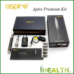 aspire cf vv kit NZ - Aspire Premium Kit 1000mah CF VV+ Battery witn 2.0ml Nautilus Mini Tank with 1.8ohm BVC Coil for Nautilus 100% Original