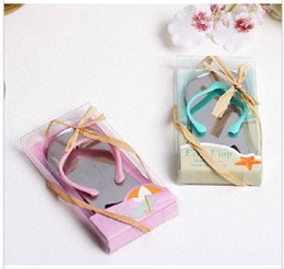 d848f39a4 Bottle Opener Wedding Flip Flop NZ - 500 pcs lot Beach Wedding Gifts Pink Flip  Flop
