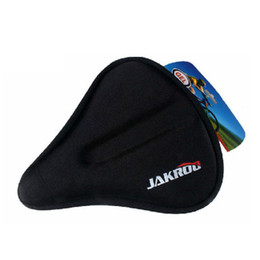saddle silicone UK - New Wider Bike Bicycle Silicone Silica Gel Cushion Soft Pad Saddle Seat Cover