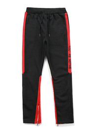 $enCountryForm.capitalKeyWord Canada - 18 new European and American high street wind trousers inside zipper letters color matching sports and leisure pants grandfather with the sa