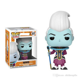 cheap gift boxes wholesale NZ - Cheap price New arrival xmas gift Funko Pop Whis Dragon Ball Vinyl Action Figure With Box Gift Toy Good Quality