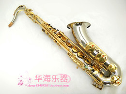 BB tenor saxophone online shopping - New High Quality Bb Tune Tenor SUZUKI Saxophone Brass Gold plated Professional Concert Instruments Sax With Case Mouthpiece