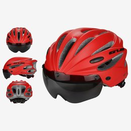 $enCountryForm.capitalKeyWord NZ - GUB High Density EPS Goggle+Brim multifunctio Cycling Bicycle helmet MTB bike sports Helmet mountain Bike brim Cascos Ciclismo