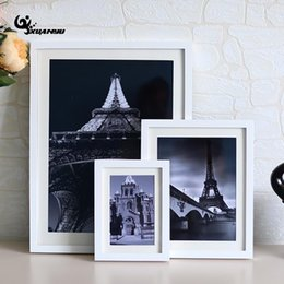 Desktop Photo Frames Canada - 1Pcs Solid Color Photo Frames Home Decor Vintage Desktop Picture Frames For Pictures High Quality Frame Birthday Gifts F
