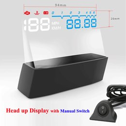 $enCountryForm.capitalKeyWord Australia - 2017 4F Headup Display HUD Car Projector OBD II EOBD System RPM Speed Fuel Consumption with Manual Switch Head Up Display Car
