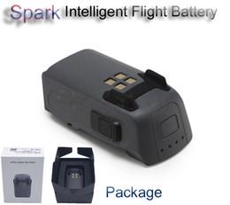 Ingrosso Accessori originali DJI Spark Drone DJI Spark Accessori Batteria di volo intelligente per visualizzare il tempo di volo rimanente in tempo reale